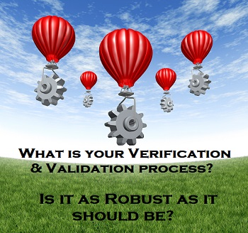 Important Steps to a Successful Validation and Verification Strategy