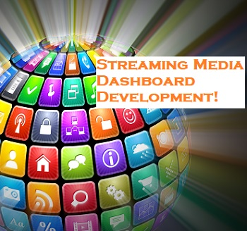 Streaming Media Dashboard Development