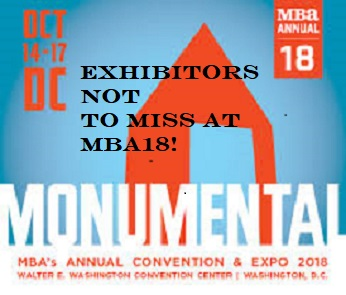The 8 Most Innovative Exhibitors at MBA's Annual Conference!