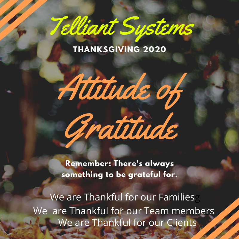 Thanksgiving 2020.. What are you thankful for?
